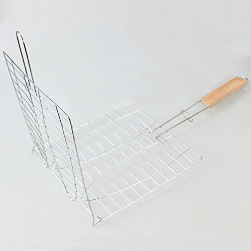 Amazon.com : [Free Shipping] BBQ Tools Meshes Folder Fish Clip ...