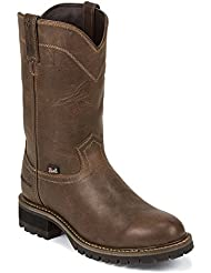 Justin Mens Abraham Waterproof Work Boots