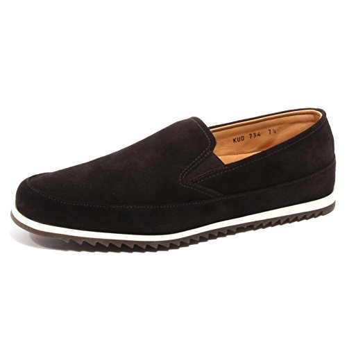 Car Shoe B2330 Mocassino Uomo Sneaker Marrone Slip On Loafer Shoe Man Marrone