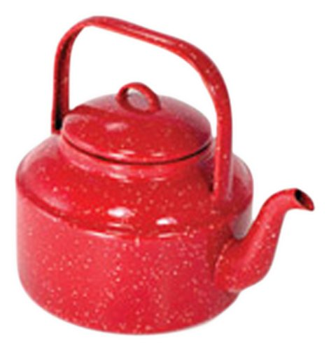 GSI Outdoors 2021 Red Tea Kettle