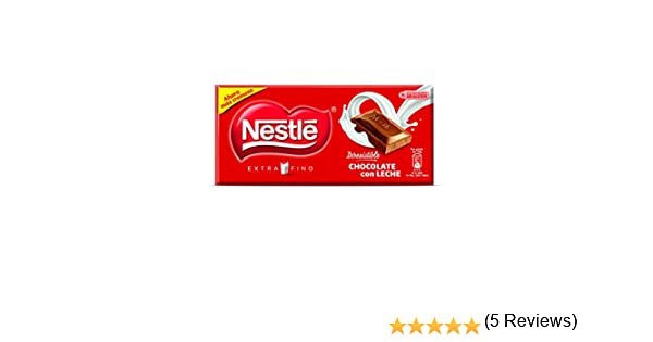 Nestlé Extrafino Chocolate con Leche, Tableta de Chocolate - Tripack 3 x 125 gr: Amazon.es: Amazon Pantry
