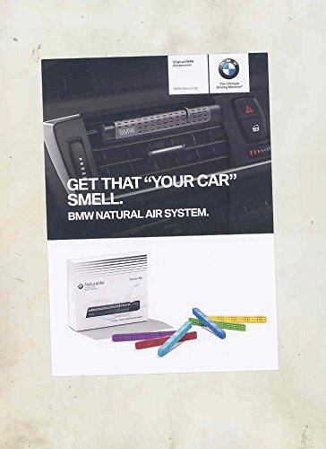 2015-bmw-natural-air-freshener-original-factory-sales-card-postcard