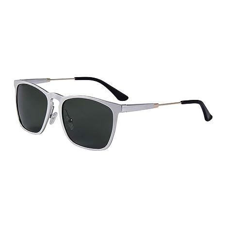 miaosss Hombres Gafas De Sol con Montura De Aluminio Y ...
