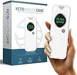 KetoHC Premium Ketone Breath Meter with X6 Reusable