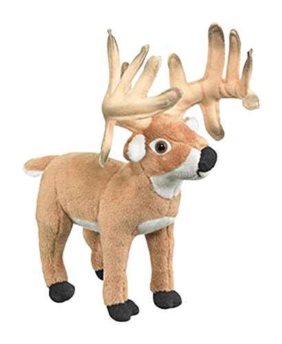 (Conservation Critters White tailed Deer Buck Plush Stuffed Animal Toy)