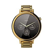 Motorola Moto 360 (2nd Gen.) - Womens 42mm, Gold with Gold Metal