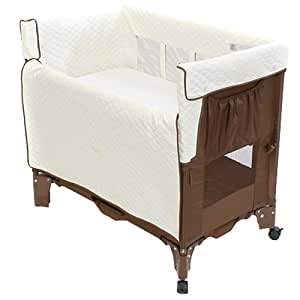 Arm's Reach Co-Sleeper Mini Bassinet Convertible, Coco Natural (Discontinued by Manufacturer)