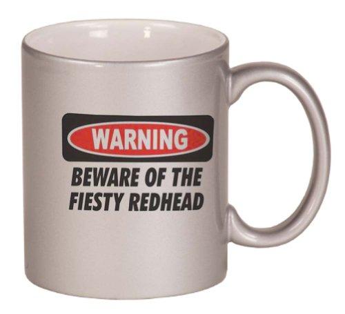 beware-of-the-feisty-redhead-coffee-mug-metallic-silver-11-oz