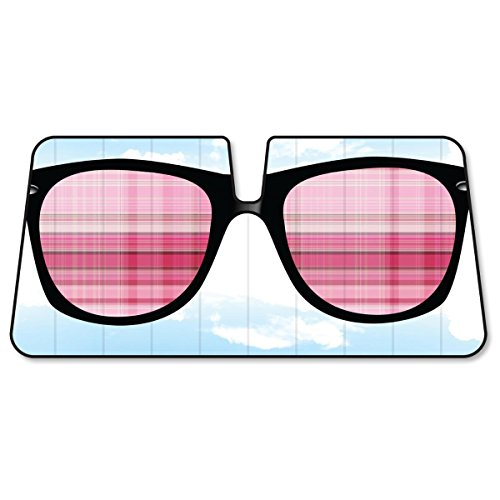 BDK Sunshade Shades in the Sky - Sunglasses - Folding Accordion Sun Shade - 58
