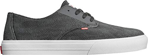 Globe Grey black Uomo Lyt Scarpe Motley Skateboard Da 0 Nero Light Knit rrq0v6