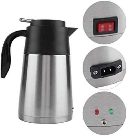 RYTLG Bouilloire Voyage Automatique en Acier Inoxydable Voiture électrique Bouilloire électrique, for Faire bouillir l'eau, la Distribution de café, Lait en Poudre