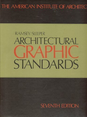 Architectural Graphic Standards - 7th Edition (Leaves Architectural)