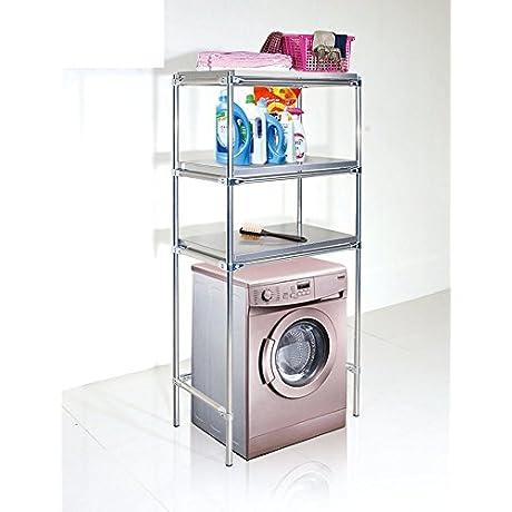 Stainless Steel Washing Rack Bathroom Storage Rack Landing A Microwave And Partition Alignment Jig Layer Shelf Racks N