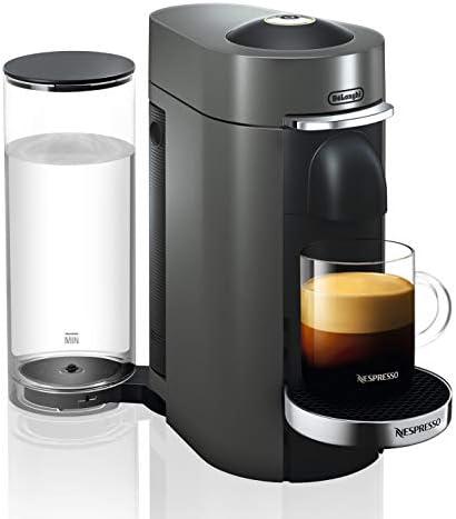 Nespresso by De Longhi ENV155T VertuoPlus Deluxe Coffee and Espresso Machine by De Longhi, Titan