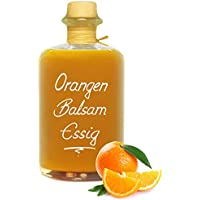 Orangen Balsam Essig 68% Fruchtanteil 0,5L intensive Fruchtnote sehr mild 5% Säure