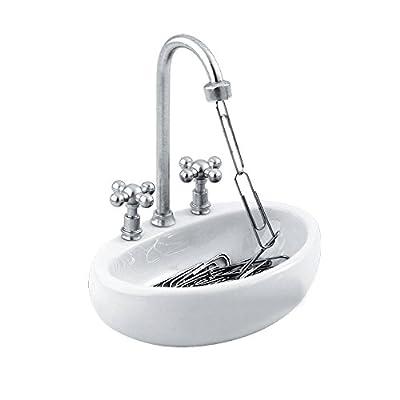 Paper Clip Holder - Kitchen Sink Design by Decodyne