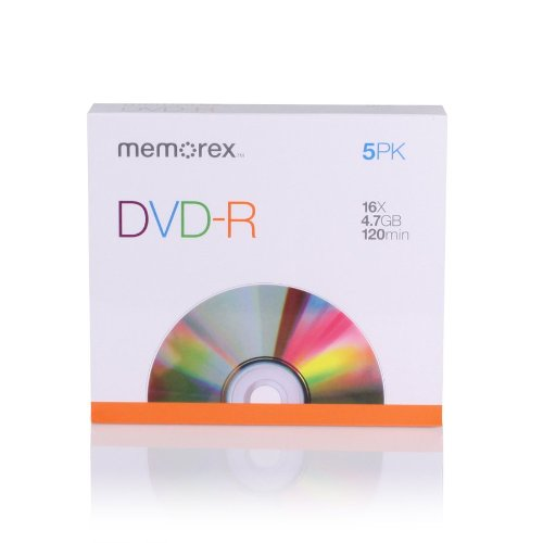Memorex 4.7Gb/16x DVD-R