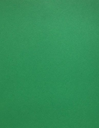 Review GREEN Cardstock Paper – 8.5 x 11 inch – 65 lb. – 50 Sheets Premium Cover from Cardstock Warehouse