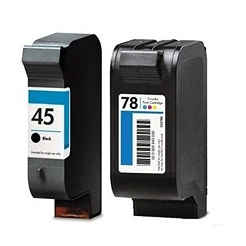 CXG Compatible Ink Cartridge For HP45/HP78 Black and Colo...