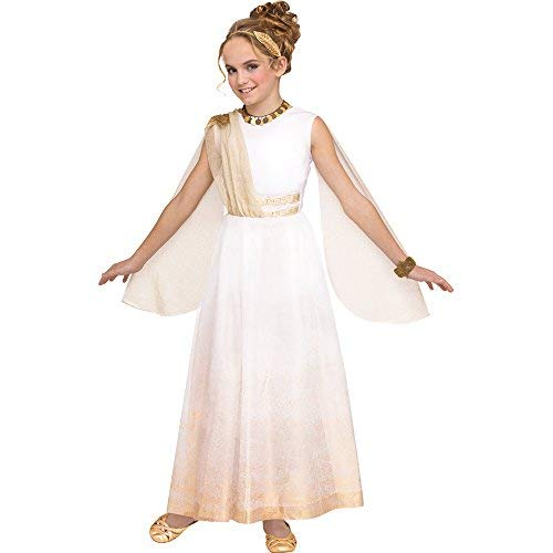 Fun World Golden Goddess Child Costume, Small, -