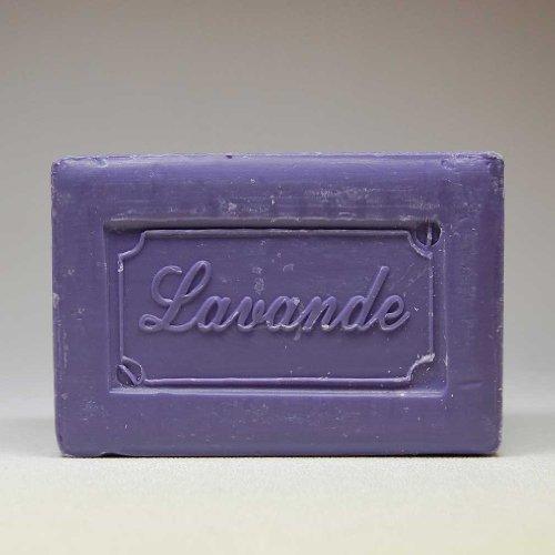 - 250 Gram Bar of Olive Oil Based Soap, Lavender Scented
