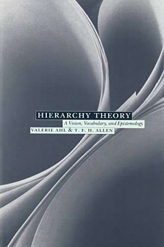 Hierarchy Theory by Ahl, Valerie, Allen, T. F. H. (1996) Paperback