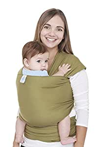 Moby Wrap Original 100% Cotton Baby Carrier, Olive