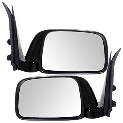 Driver and Passenger Manual Side View Mirror Replacement for Toyota Pickup Truck 8794004040 8791004030 AutoAndArt