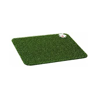 """Grassworx Clean Machine Scraper - Felpudo (17-1/2"""" x 23-1/2"""", Color Verde)"""