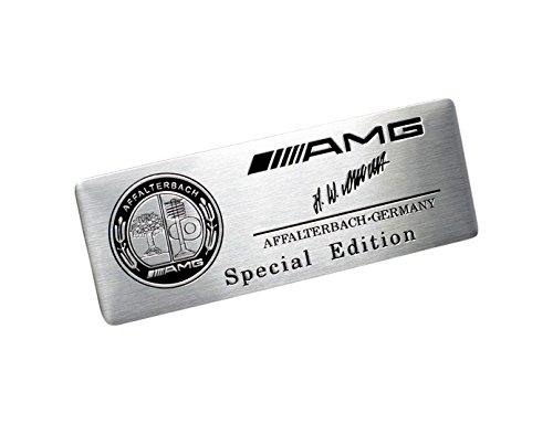 AMG Steering Wheel Sticker Badge Logo Emblem Alloy Smart
