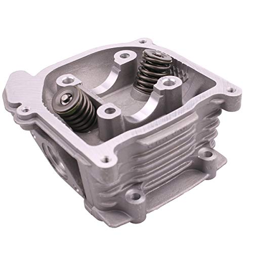 (Glixal GY6 50cc to 80cc Chinese Scooter Engine 47mm Cylinder Head Assy with 69mm valves for 139QMB 139QMA Moped ATV Quad Go Kart (Non EGR Type))