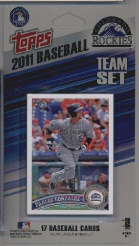 2011 Topps Limited Edition Colorado Rockies Baseball Card...