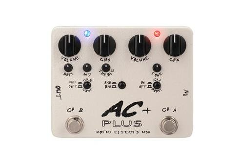 Xotic Effects - Xotic Effects AC Plus 2-Channel Overdrive Guitar Effects Pedal