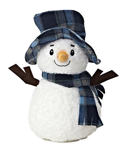 Aurora World Bundled Up Snowman Plush, 11
