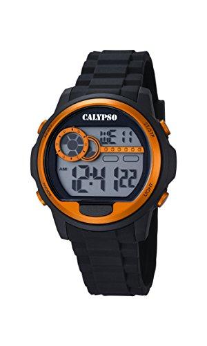 Calypso hombre-reloj de cuarzo digital plástico K5667/4