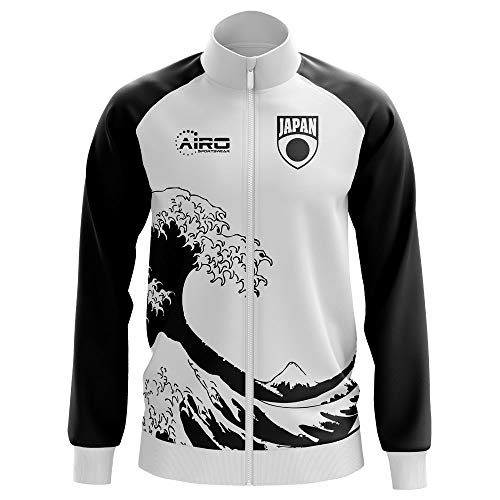 Airo Sportswear Japan Concept Football Track Jacket (White)