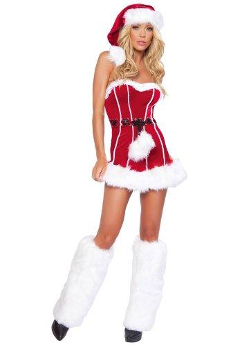 Naughty Santa Adult Costume - Medium/Large (Naughty Costume Party)