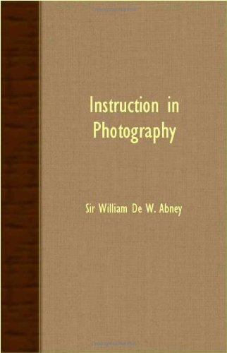 Instruction in Photography PDF