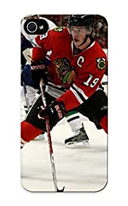 Crooningrose Shock-dirt Proof Chicago Blackhawks Nhl Hockey 54 Case Cover Design For Iphone 5/5s - Best Lovers