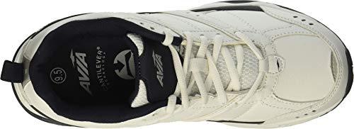 Avia Men's Avi-Verge Sneaker, White/True Navy, 12 Wide US by Avia (Image #1)