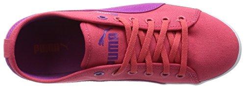 Puma Elsu F Canvas Jr - zapatilla deportiva de lona infantil Rosa