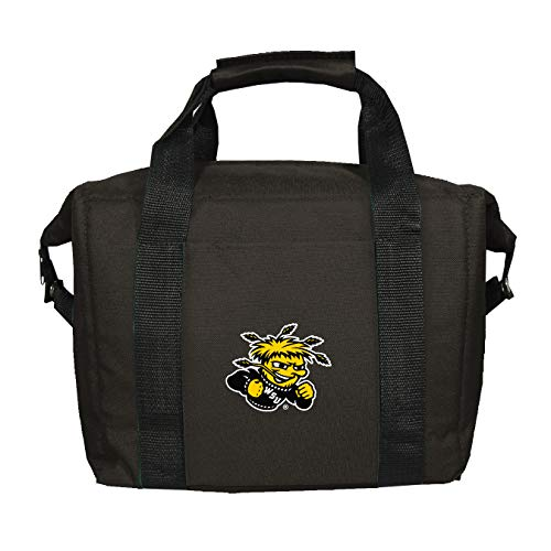 Shockers Wichita State Bottle - NCAA Wichita State Shockers Soft Sided 12-Pack Kooler Bag