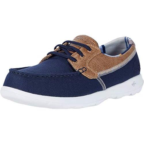 chollos oferta descuentos barato Skechers GO Walk Lite Zapatillas Mujer Azul Marino Ribete Textil Nvy 39 EU