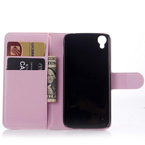 Manyip Funda Alcatel One Touch Idol 3 (5.5),Caja del teléfono del cuero,Protector de Pantalla de Slim Case Estilo Billetera con Ranuras para Tarjetas, Soporte Plegable, Cierre Magnético(JFC3-6) C