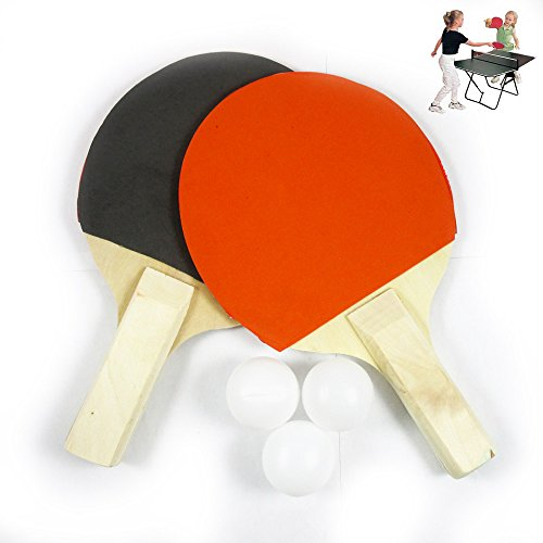 PADDLE TABLE TENNIS RACKET RUBBER