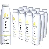 UPTIME - White Peach Lemonade - Sugar Free (12 Pack), Premium Energy Drink, 12oz Bottles, Natural Caffeine, Sparkling, Natural Flavors, 5 Calories