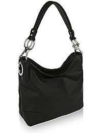 MKF Collection by Mia K Farrow Emily Soft Vegan Leather Hobo Handbag