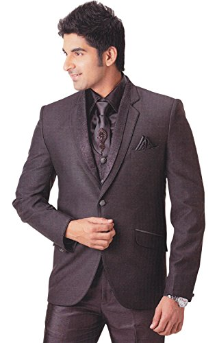 INMONARCH -  Smoking  - Uomo Dark-Grey 52 Lungo