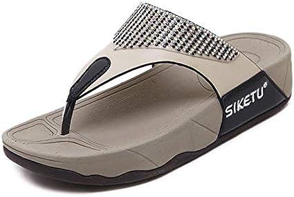 Sandalias Flip Flop Sandalias De Plataforma Con Cuñas Para Mujeres Zapatos Con Punta De Playa Casual Zapatos Para Madres Novias Y Hermanas Mx Deportes Y Aire Libre
