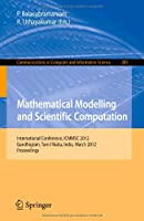 Mathematical Modelling and Scientific Computation Front Cover